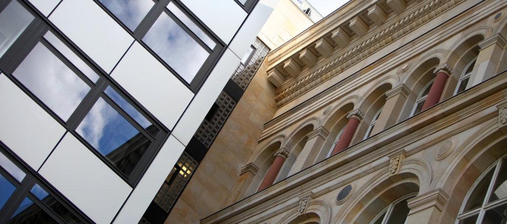 Fassaden – alt und neu